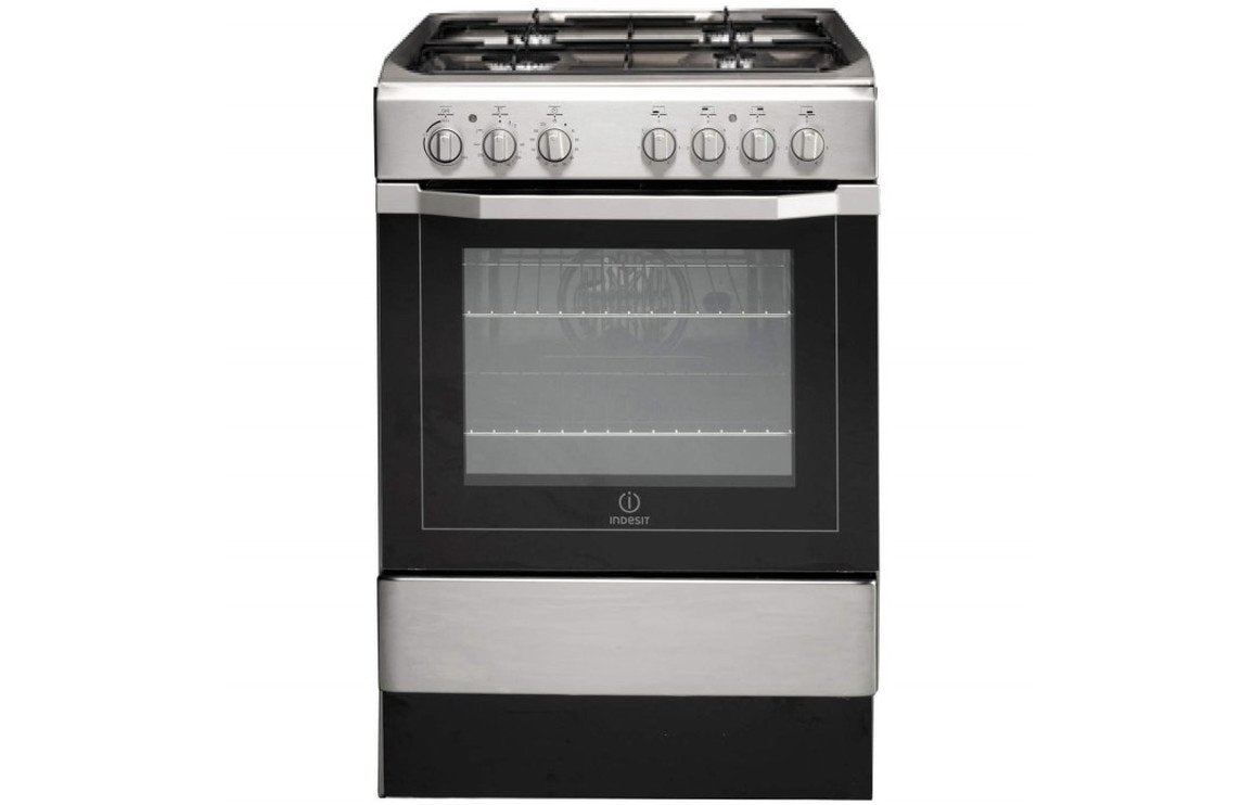 Indesit I6G52X/UK Dual Fuel Cooker - St/Steel