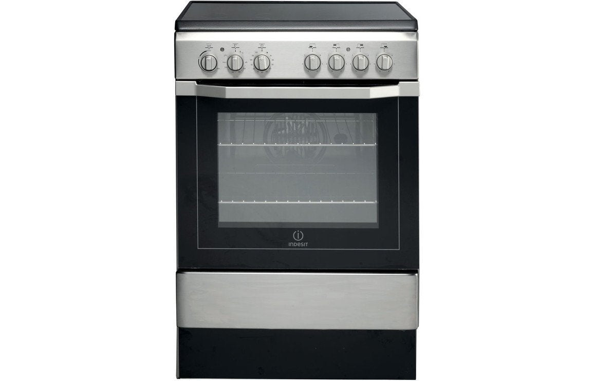 Indesit I6VV2AX/UK Electric Cooker - St/Steel