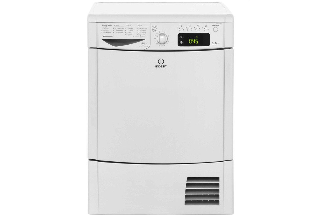 Indesit IDCE8450BSH F/S 8kg Tumble Dryer - Silver