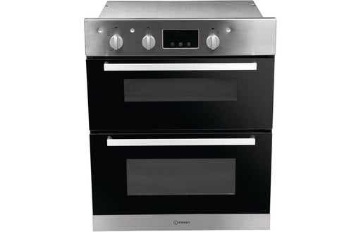 Indesit IDU 6340 IX B/U Double Electric Oven - St/Steel