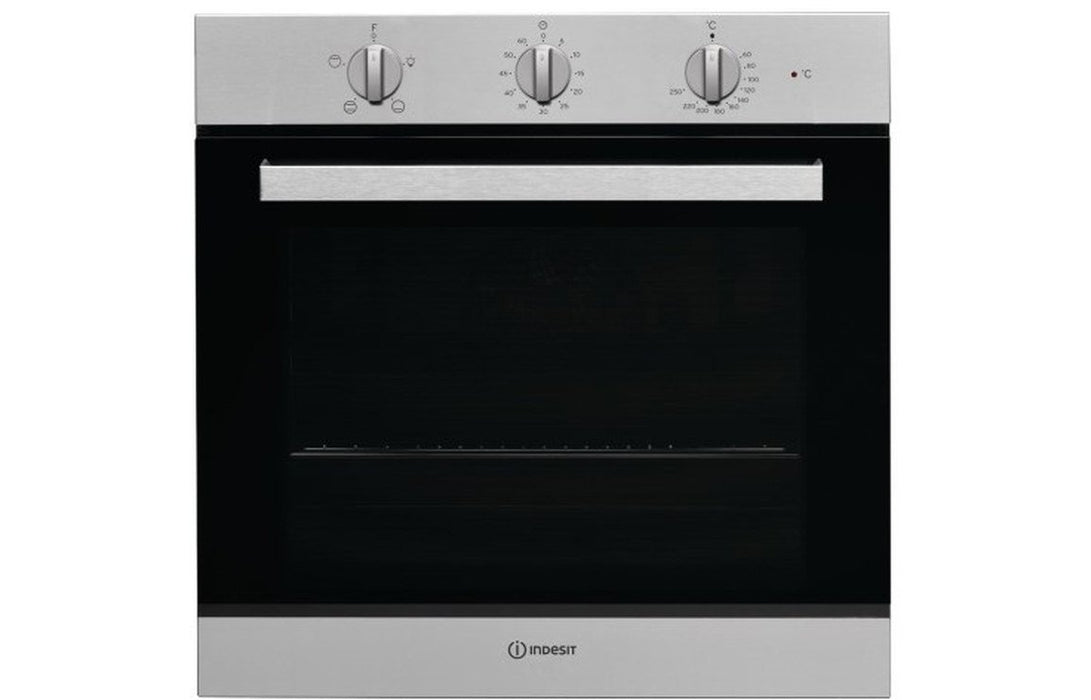 Indesit IFW 6230 IX UK B/I Single Electric Oven - St/Steel
