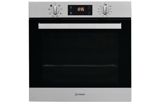 Indesit IFW6340IXUK B/I Single Electric Oven - St/Steel