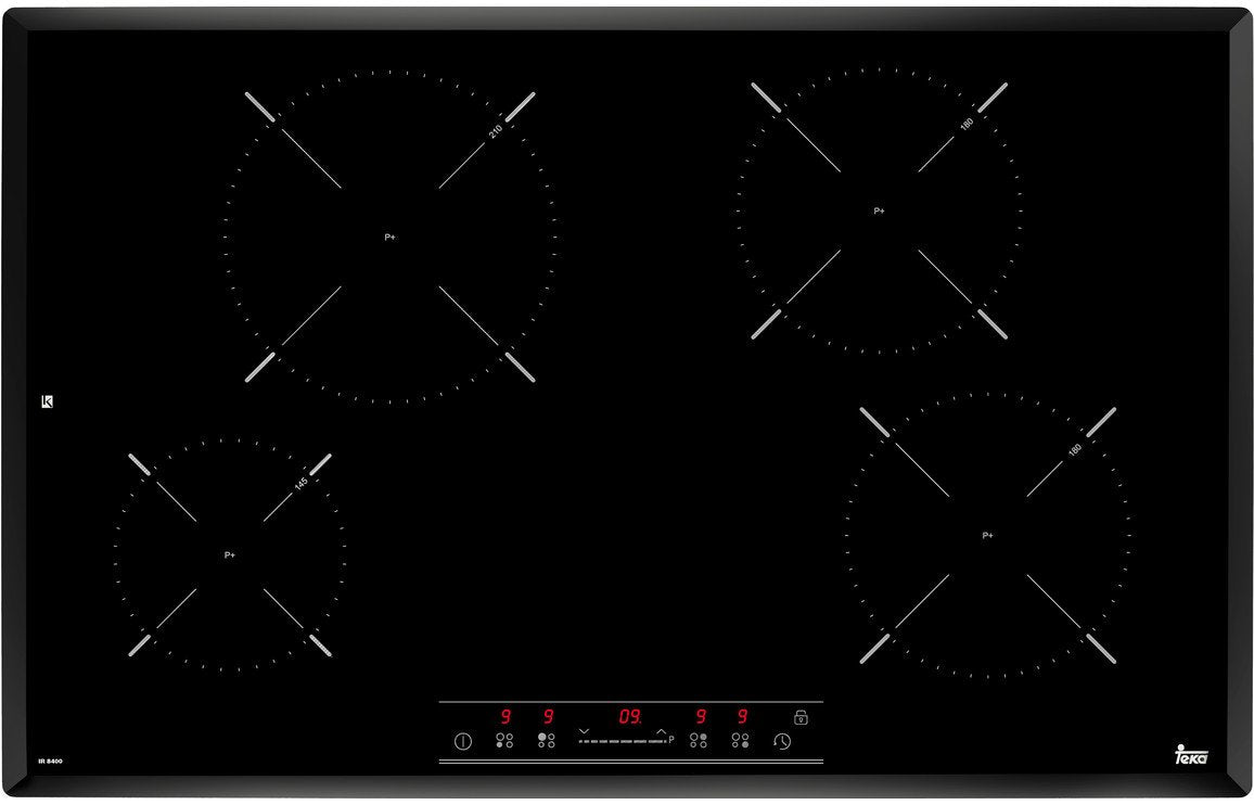 Teka IR 8400 80cm Induction Hob - Black