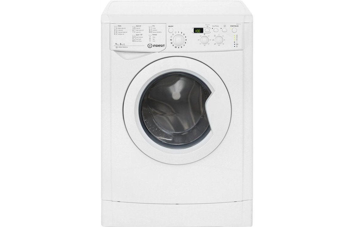 Indesit IWDD 7123 F/S 7kg/5kg 1200rpm Washer Dryer - White