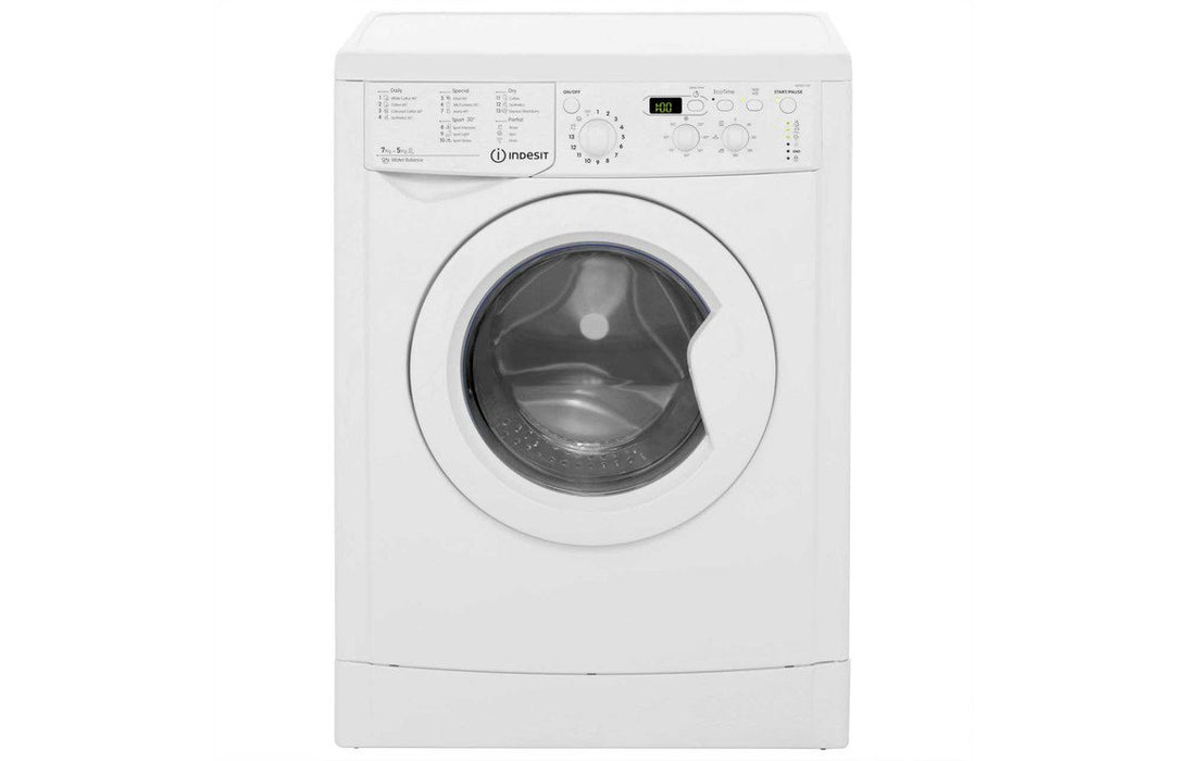Indesit IWDD 7143 F/S 7kg/5kg 1400rpm Washer Dryer - White