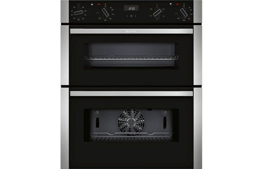 Neff N50 J1ACE2HN0B B/U Double Electric Oven - St/Steel