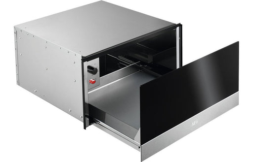 AEG KDK912922M 30cm Warming Drawer - Black & St/Steel