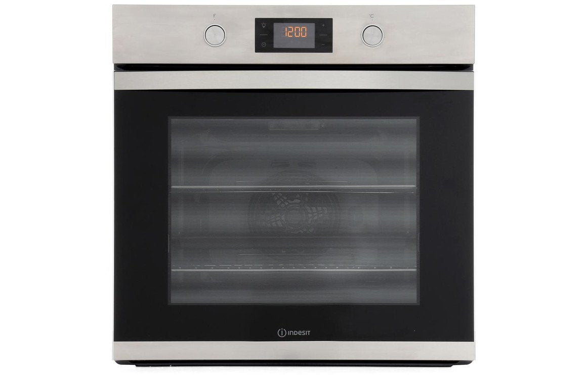 Indesit KFW3841JHIXUK B/I Single Electric Oven - St/Steel