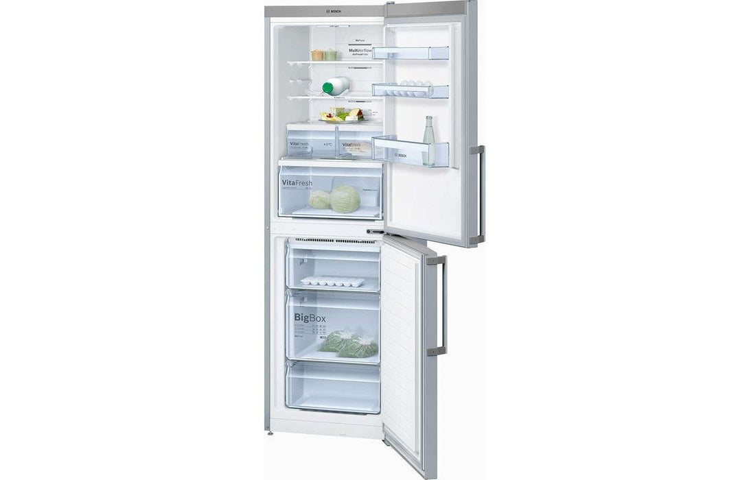 Bosch Serie 4 KGN34XL35G F/S 50/50 Fridge Freezer - St/Steel