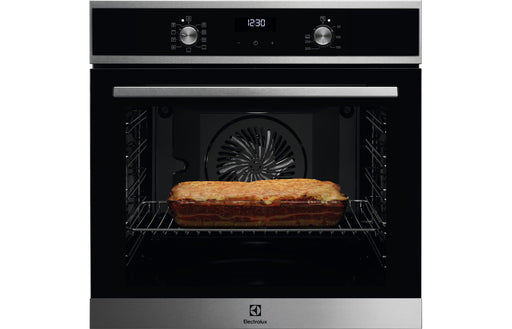 Electrolux KOFEH40X B/I Single Electric Oven - Black & St/Steel