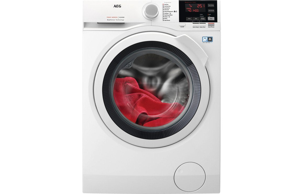 AEG L7WBG741R F/S 7kg/4kg Washer Dryer - White