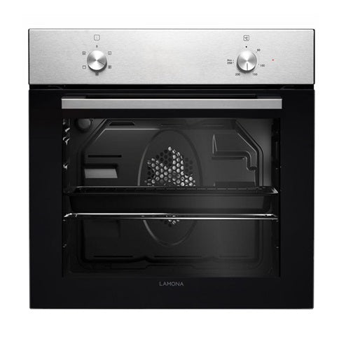 LAM3450 A Lamona S/Steel Single Standard Fan Oven 60cm