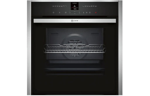 Neff N70 B57VR22N0B B/I Single Slide&Hide® Pyrolytic Oven w/VarioSteam - St/Steel