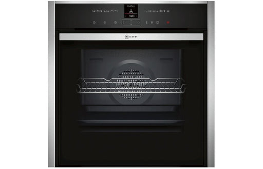 Neff N70 B47VR32N0B B/I Single Slide&Hide® Electric Oven w/VarioSteam - St/Steel