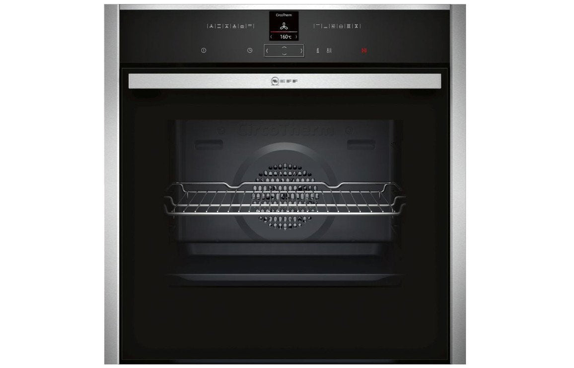 Neff N70 B27CR22N1B B/I Single Pyrolytic Oven - St/Steel