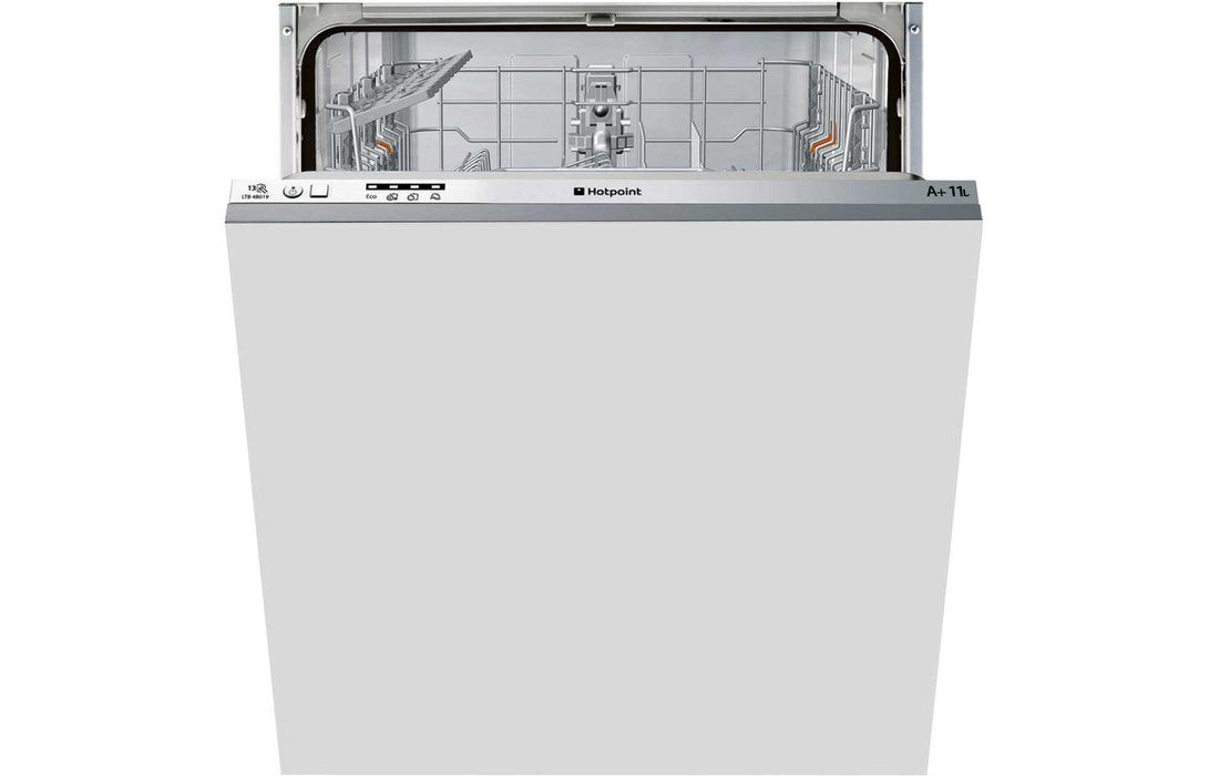 Hotpoint HFC 3C26 W SV F/S 14 Place Dishwasher - Silver