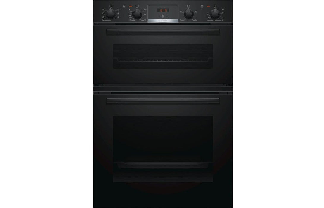 Bosch Serie 4 MBS533BB0B B/I Double Electric Oven - Black