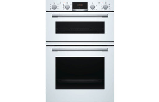 Bosch MBS533BW0B B/I Double Electric Oven - White
