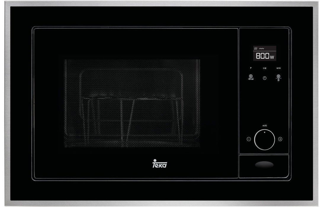 Teka ML 820 BIS B/I Microwave & Grill - Black & St/Steel