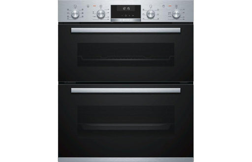 Bosch Serie 6 NBA5350S0B B/U Double Electric Oven - St/Steel