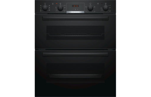 Bosch NBS533BB0B B/U Double Electric Oven - Black