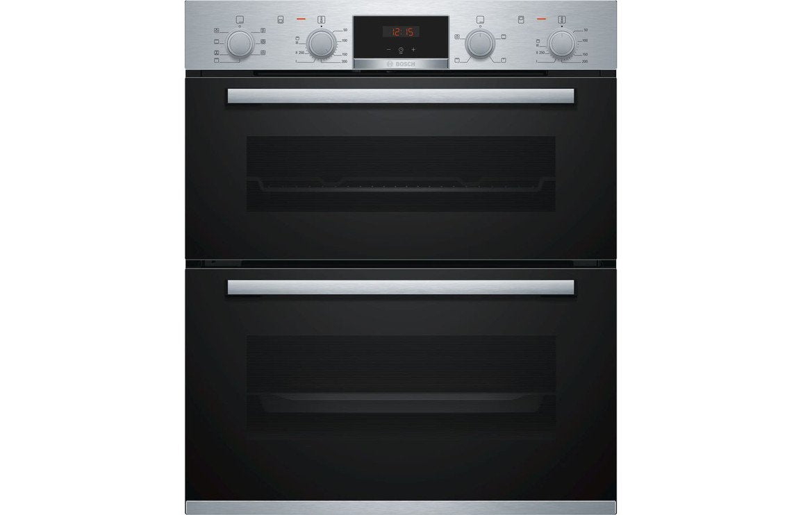 Bosch Serie 4 NBS533BS0B B/U Double Electric Oven - St/Steel