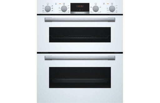 Bosch NBS533BW0B B/U Double Electric Oven - White