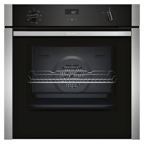 Neff Slide & Hide® Single Multi-Function Oven - Stainless Steel and Black