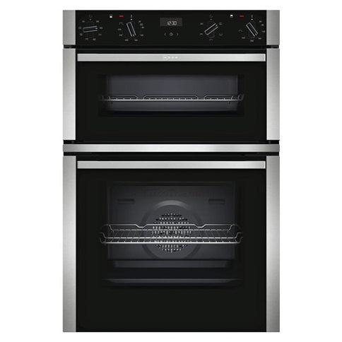 Neff Touch Control Multi-Function Double Oven - Stainless Steel and Black