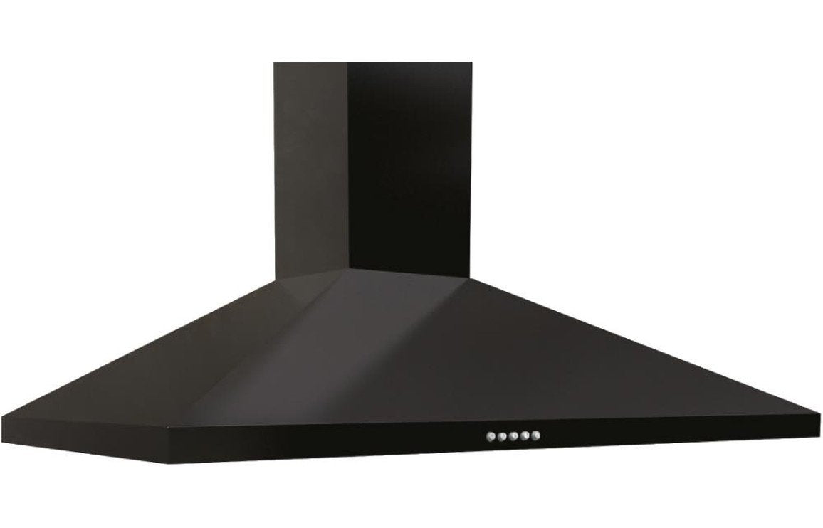 Prima PRCH021 60cm Chimney Hood - Black