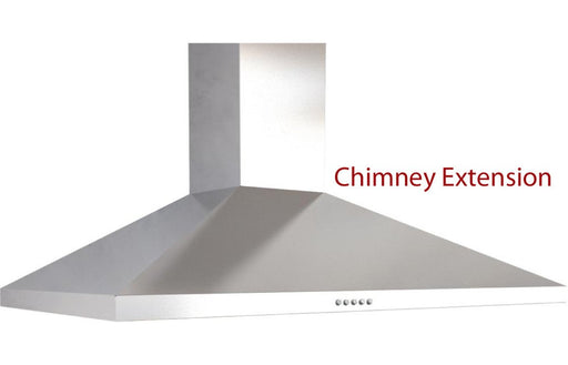Prima Chimney Hood Extension - St/Steel