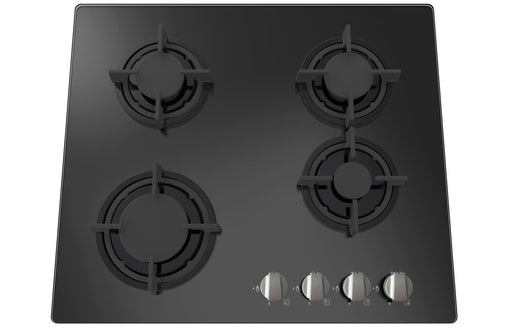 Prima+ PRGH212 60cm Gas on Glass Hob - Black