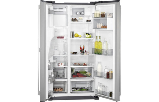 AEG RMB76111NX F/S American Fridge Freezer - St/Steel
