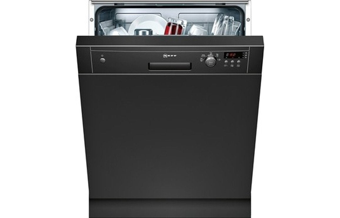 Neff N30 S41E50S1GB S/I 12 Place Dishwasher - Black