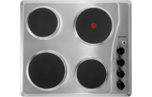 Indesit TI 60 X 60cm Solid Plate Electric Hob - St/Steel