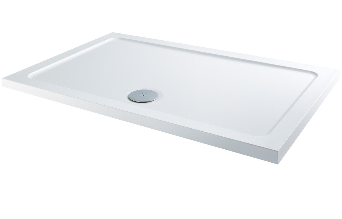 RefleXion 40mm Low Profile 1600x800mm Rectanglular Tray & Waste