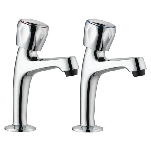 TAP1118 Lamona Polished Chrome Pillar Taps