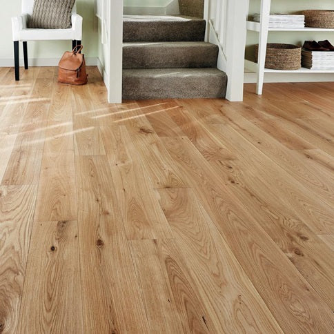 Howdens Pre Finished Solid Oiled Oak Flooring 120mm Width