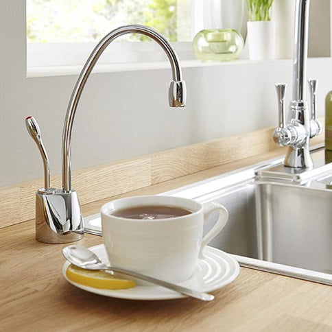 TAP3573 Lamona Insinkerator Chrome Single Lever Hot Water Tap & Boiler