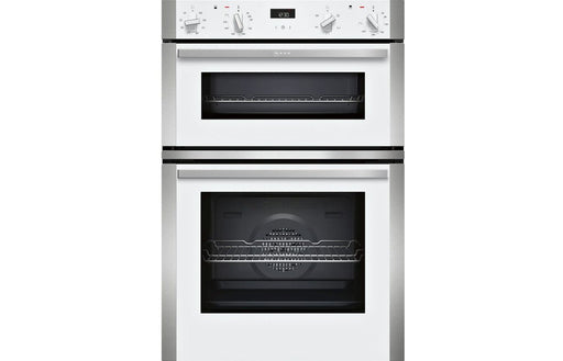 Neff N50 U1ACE2HW0B B/I Double Electric Oven - White