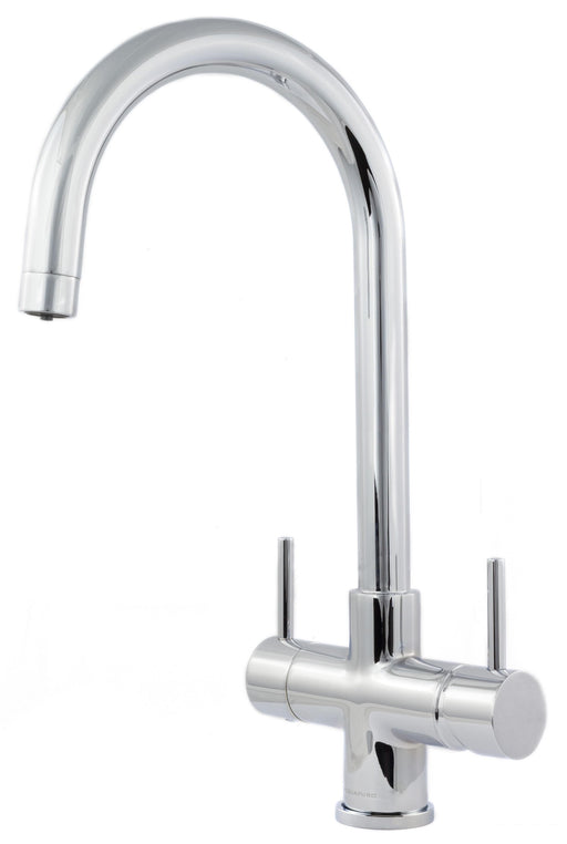 Acquapuro Verona 2 Lever 3 Way Kitchen Tap Chrome (VER32C)