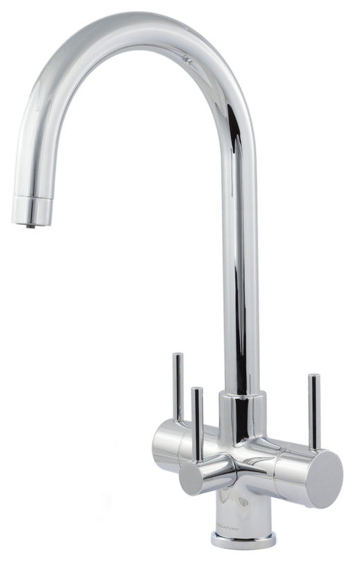 Acquapuro Verona 3 Lever 3 Way Tap Chrome (VER33C)