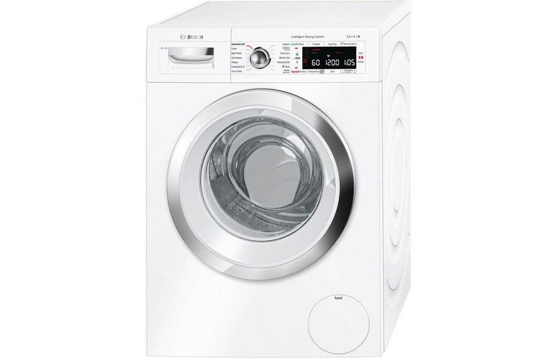 Bosch Serie 8 WAWH8660GB F/S 9kg 1400rpm Washing Machine - White