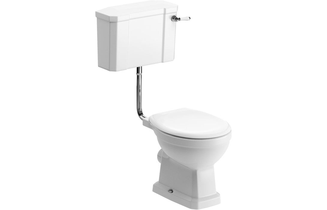 Sherbourne Low Level WC & Standard Soft Close Seat