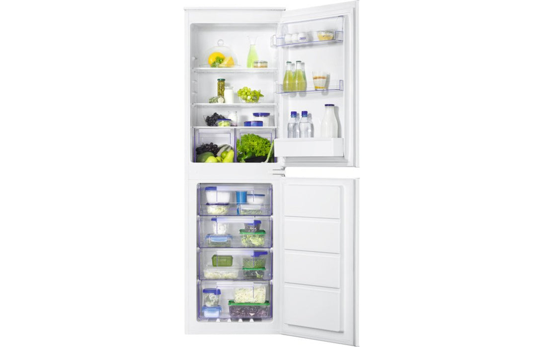 Zanussi ZBB27640SV Built In Frost Free 50/50 Fridge Freezer