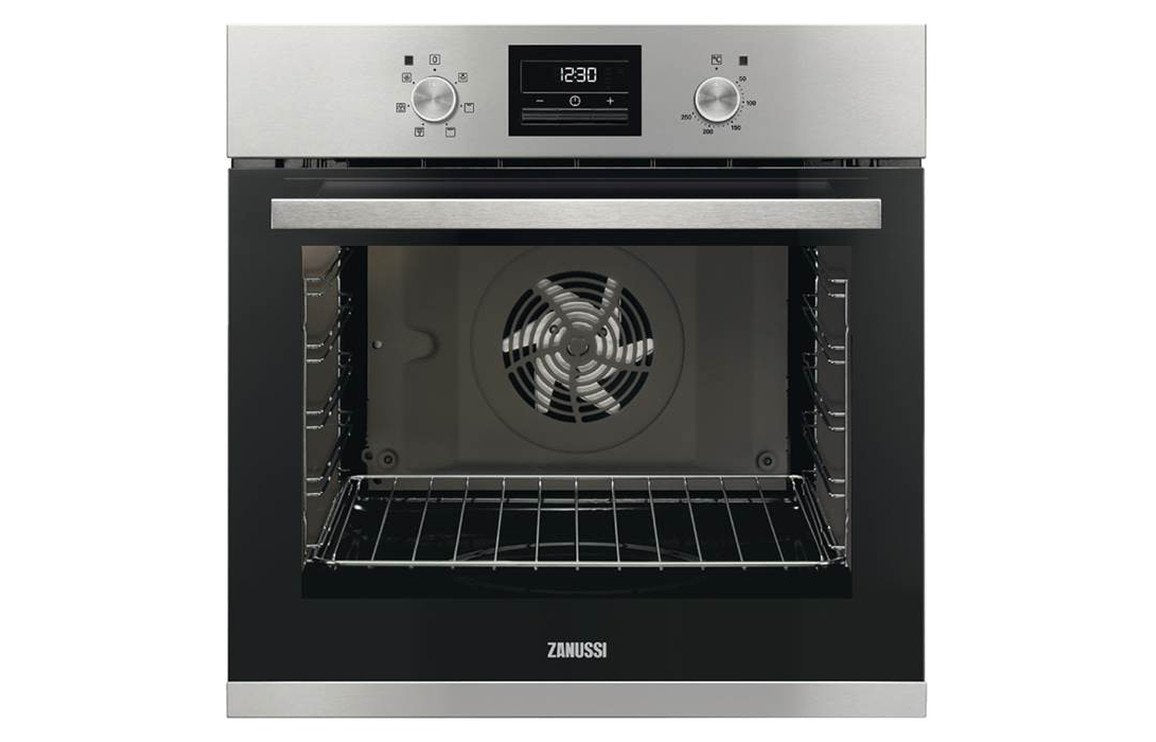 Zanussi ZOA35471XK B/I Single Electric Oven - St/Steel