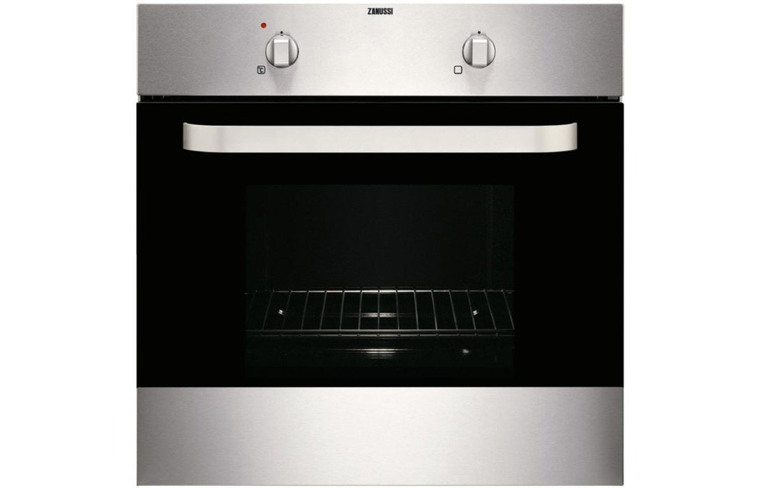 Zanussi ZOB140X B/I Single Electric Oven - St/Steel