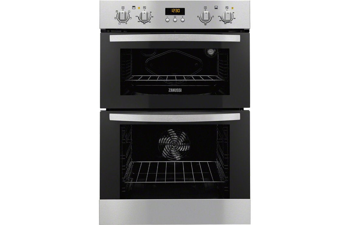 Zanussi ZOD35661XK B/I Double Electric Oven - St/Steel