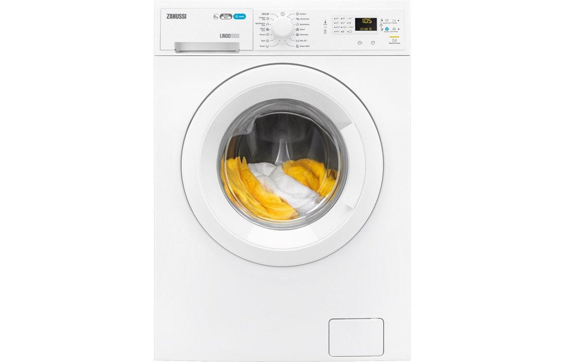 Zanussi ZWD81660NW F/S 8kg/4kg 1600rpm Washer Dryer - White