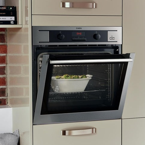 AEG Single Pyrolytic Multi-Function Oven - Stainless Steel (HAG3707)